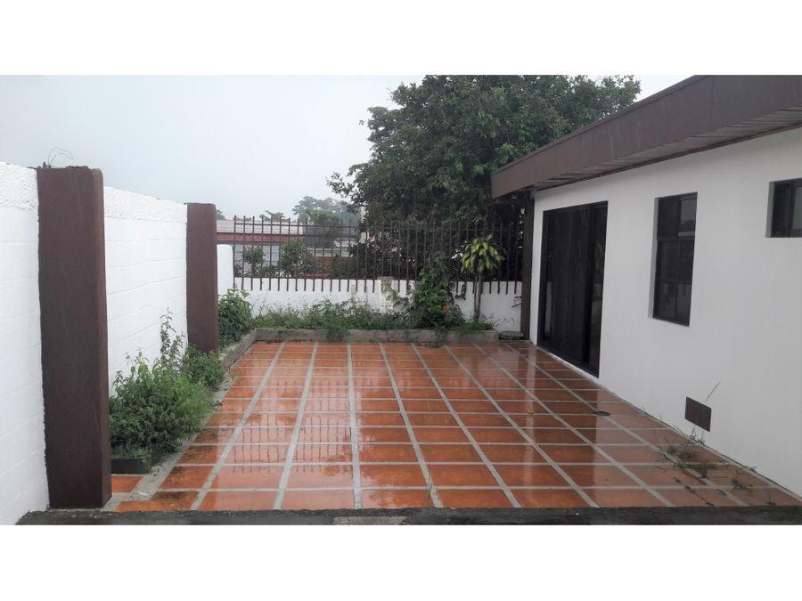 casa independiente en rohrmoser san jose