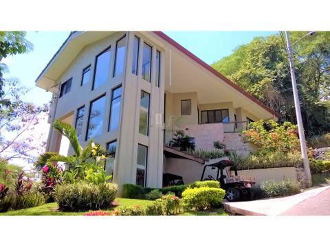 espectacular casa castle on the hill tarcoles
