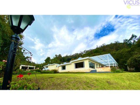 espectacular casa floresta de la sabana venta