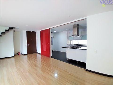arriendo apartamento duplex en sta barbara bogota