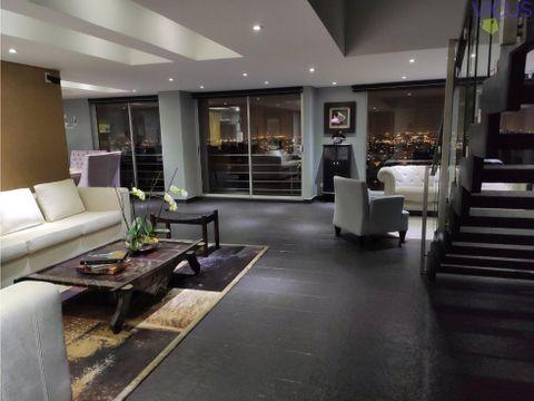espectacular apartamento triplex en chapinero alto venta