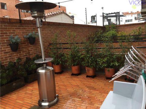 arriendo apartaestudio con terraza 2 parqueaderos