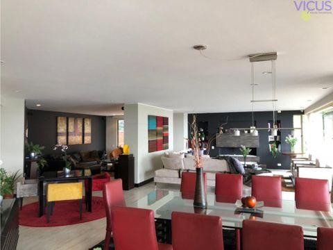 espectacular apartamento en chico alto venta