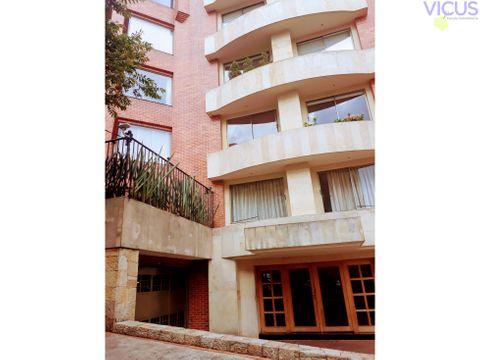 gran terraza en apartamento en rosales