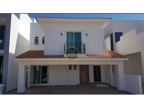 casa en venta en el exclusivo residencial playa brujas