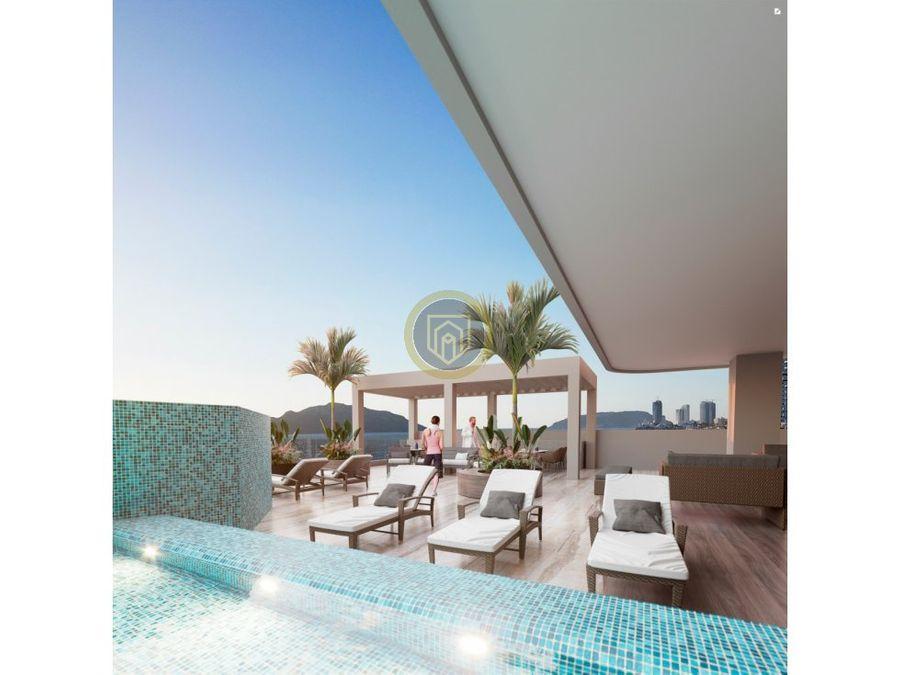 departamentos en venta frente a la playa cristal bay mazatlan