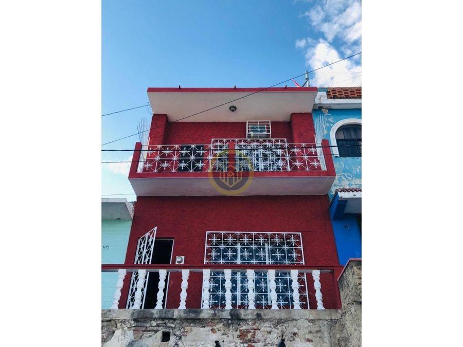 casa en venta en el centro viejo mazatlan