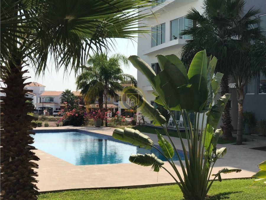 departamento en renta en privada la isla mazatlan