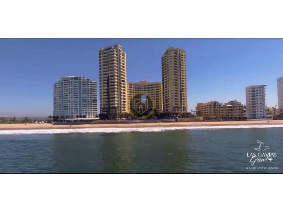 departamento de lujo en venta con playa mazatlan