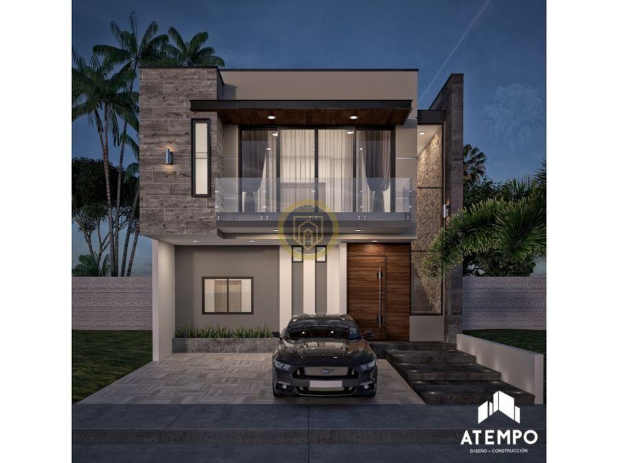 casa en venta en coto platino con area verde
