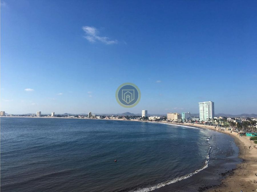 departamento en venta frente al mar mazatlan