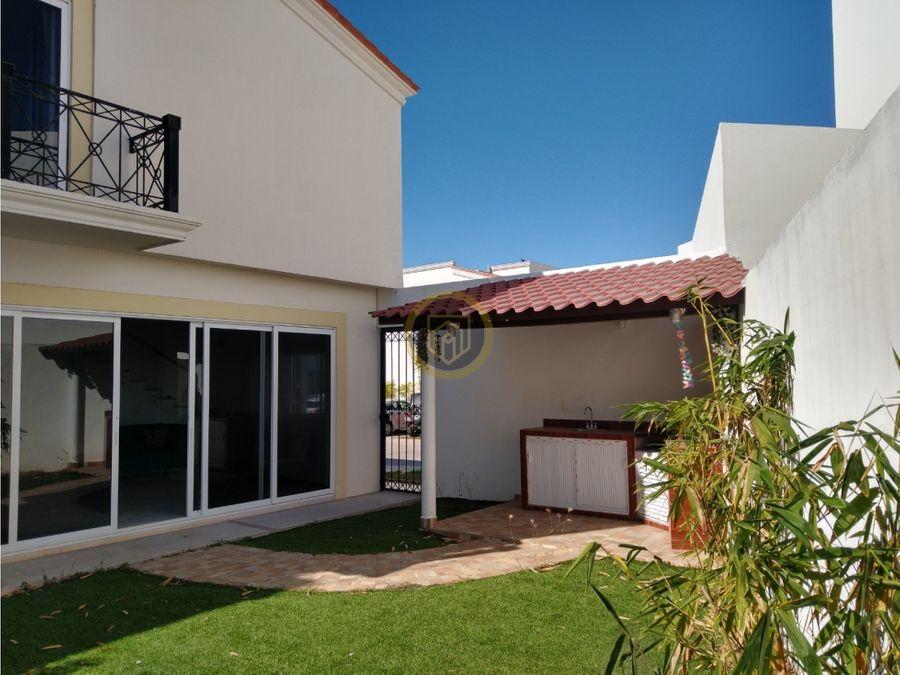 casa en venta en mediterraneo club residencial