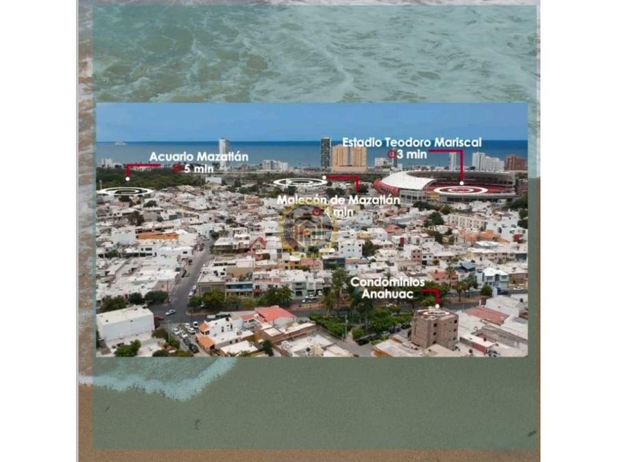 departamentos en venta cerca de la playa torre anahuac mazatlan