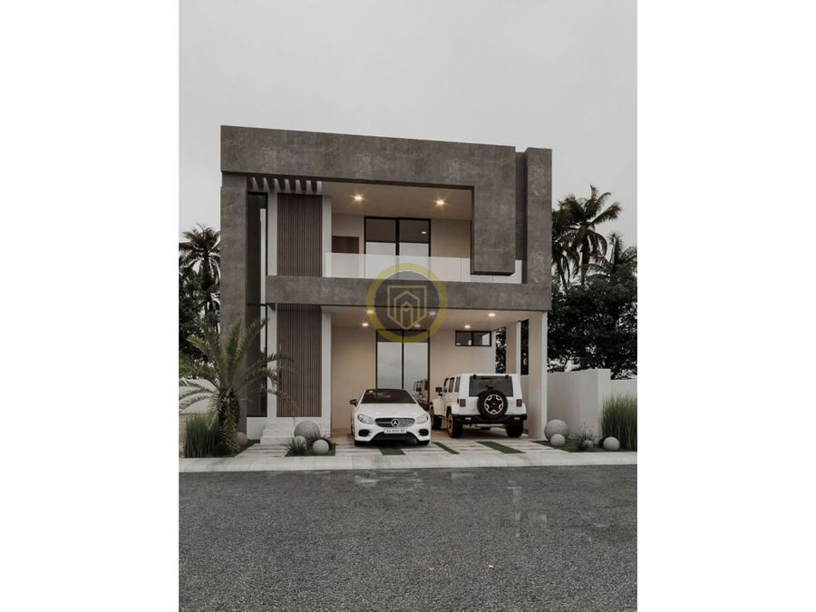 casa en venta frente al area verde en coto soles mazatlan