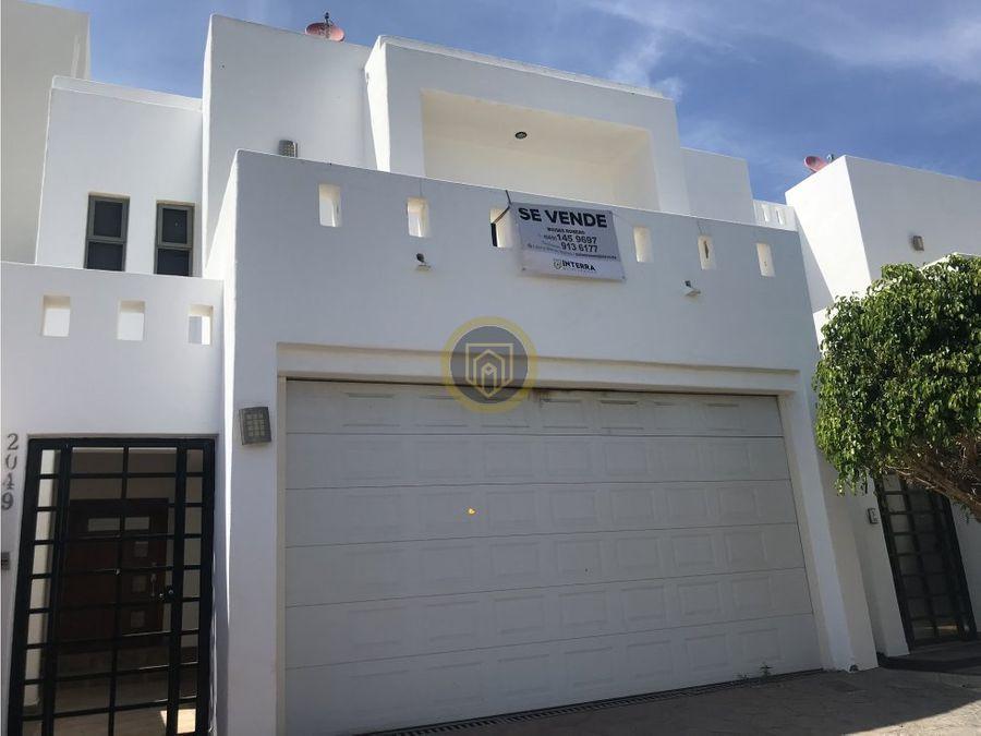 casa en venta en sabalo country mazatlan