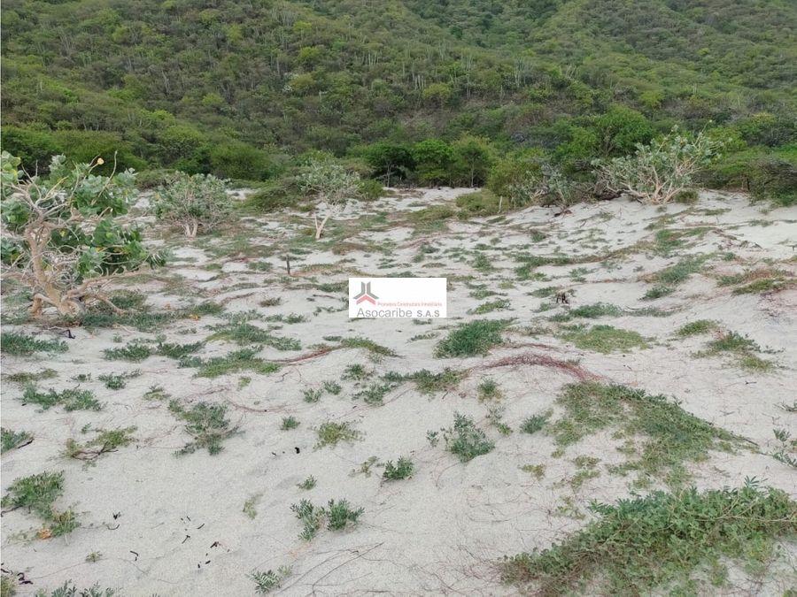 espectacular lote de playa en venta santamarta