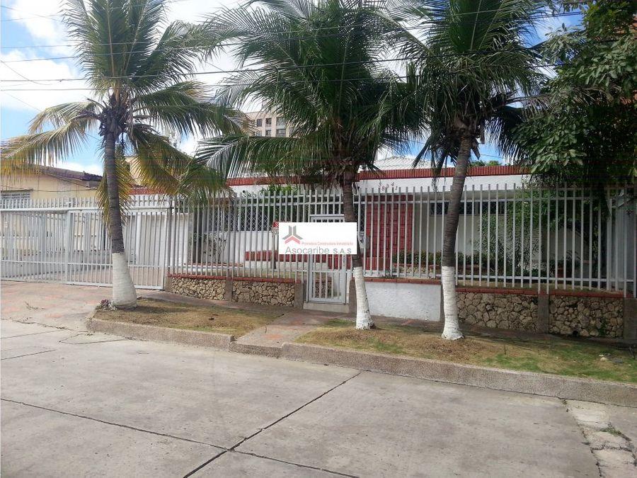 casa en venta barrio ciudad jardin barranquilla