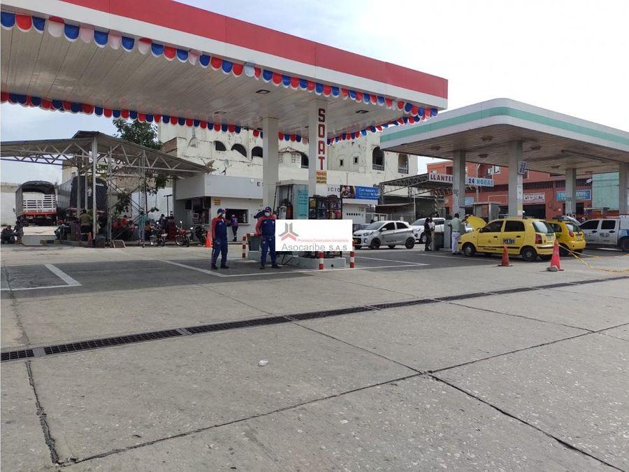 venta estacion de gasolina barranquilla