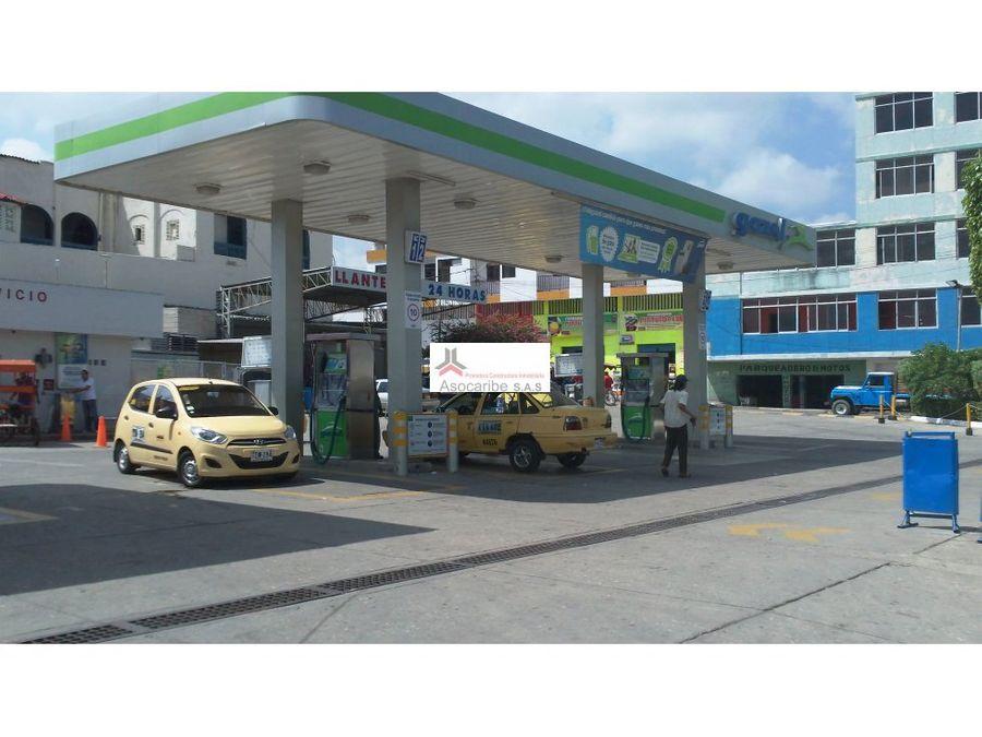 estacion de gasolina en venta barranquilla