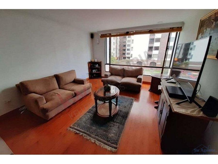 apartamento en sector exclusivo de santa barbara central bogota dc