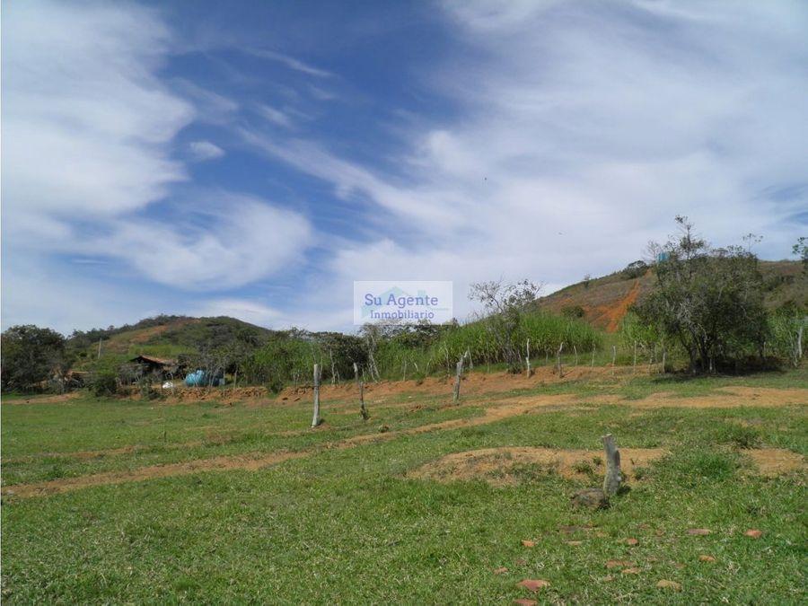 venta de lote en vda guayabal barichara