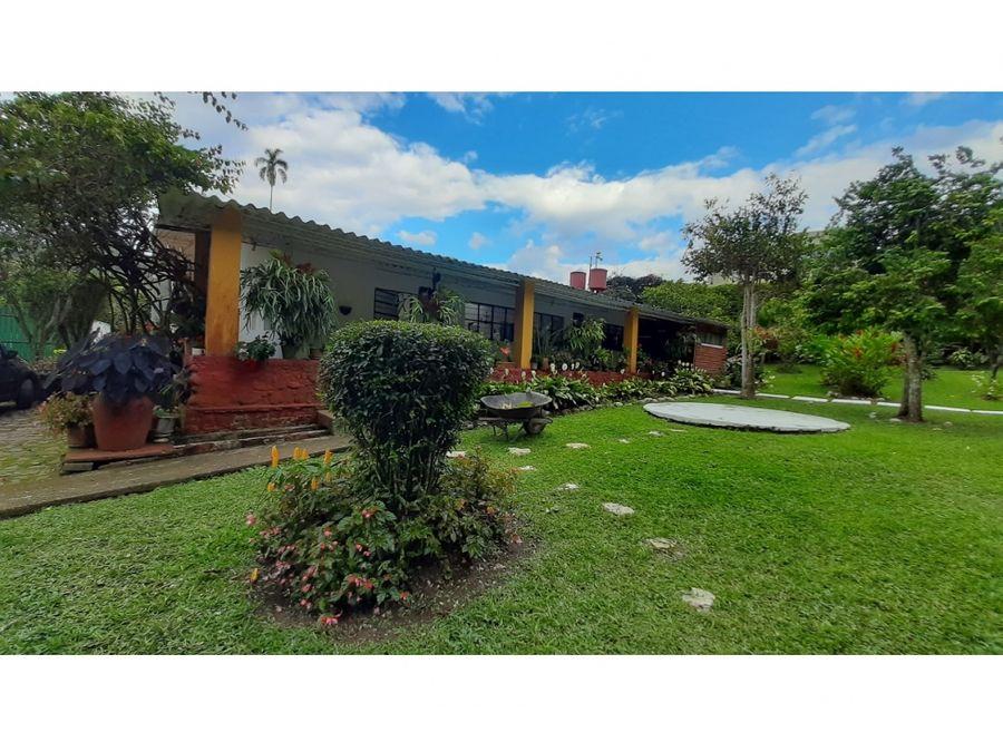 casa campestre oportunidad de inversion en la vega cundinamarca