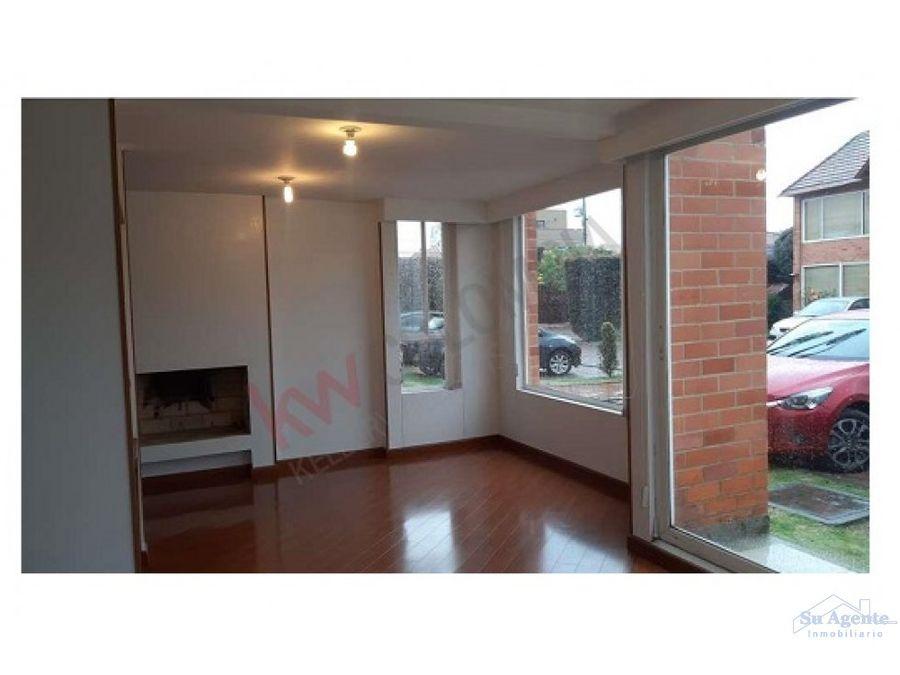 casa en venta en la vereda bojaca de chia