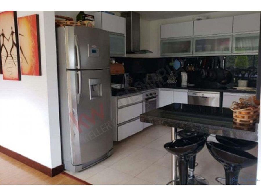 casa de un nivel para la venta en conjunto residencial de cajica