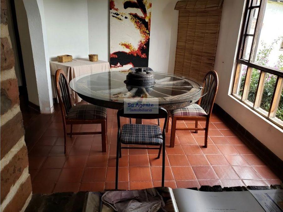 casa campestre en venta tenjo cundinamarca