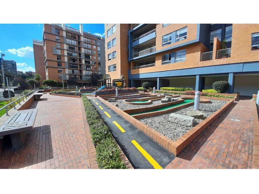 penthouse exterior con terraza en sector de cedritos en venta