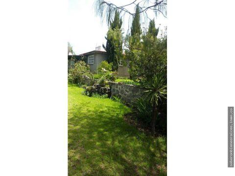 casa con jardin y arboles frutales atlihuetzia