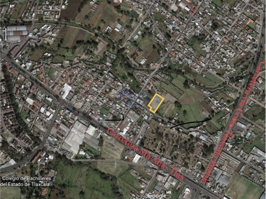 terreno en venta ixtulco excelente ubicacion