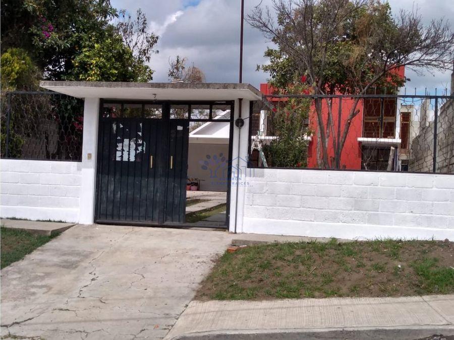 venta casa con jardin amplio en cuauhtelulpan