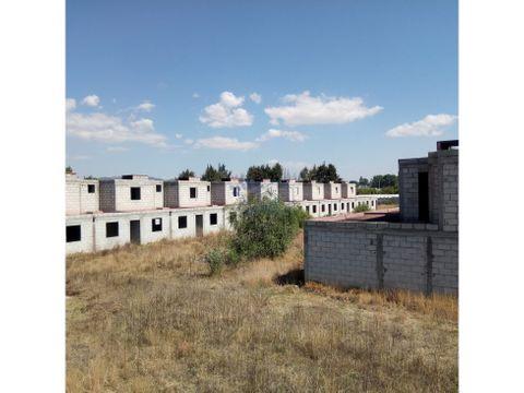 venta fraccionamiento de 50 casas en obra negra