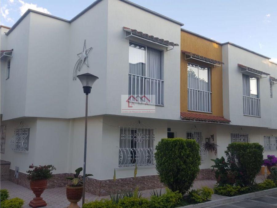 venta casa en conjunto residencial armenia
