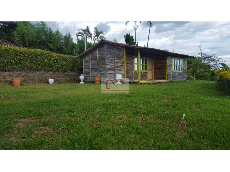 ventapermuta chalet con 4 casas campestres en circasia quindio