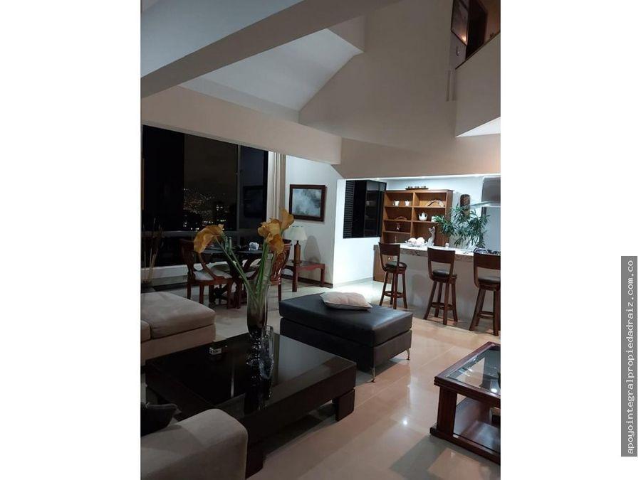 alquiler de apartamento duplex amoblado sector poblado