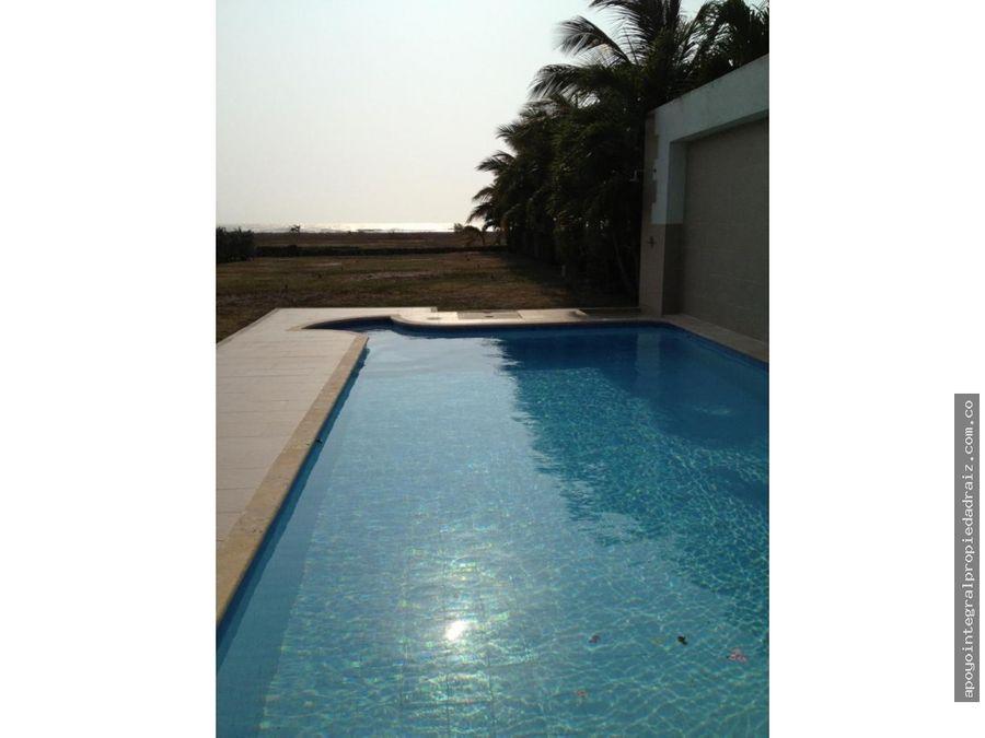 alquiler de casa de playa sector arroyo de piedra cartagena