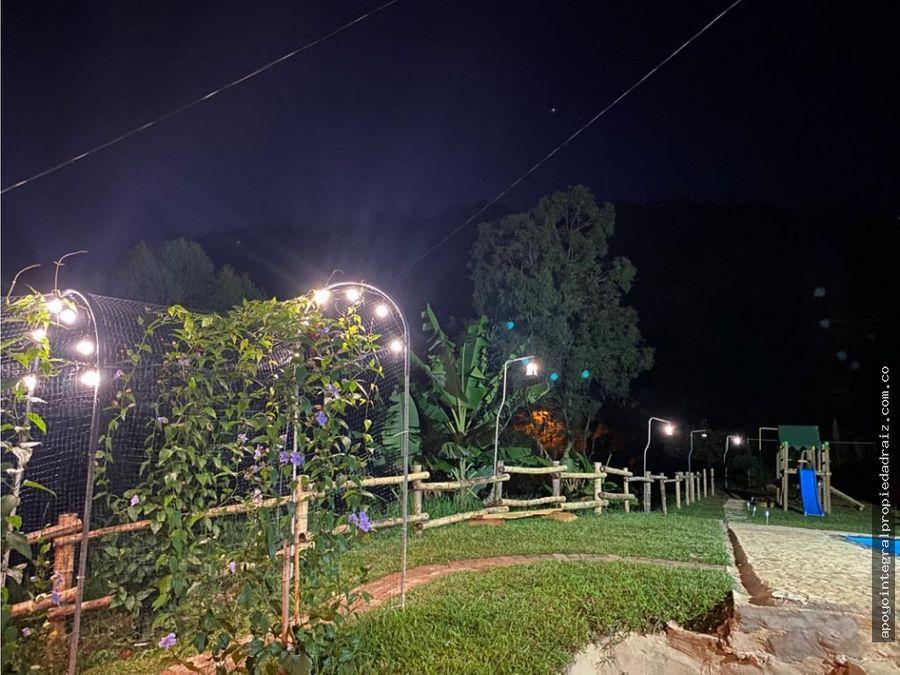 alquiler de finca por noches sector girardota g10