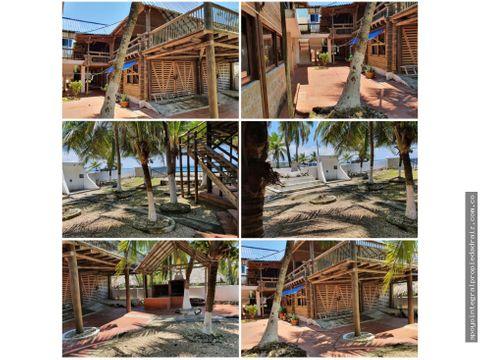 alquiler de cabana por noches sector el palmar covenas