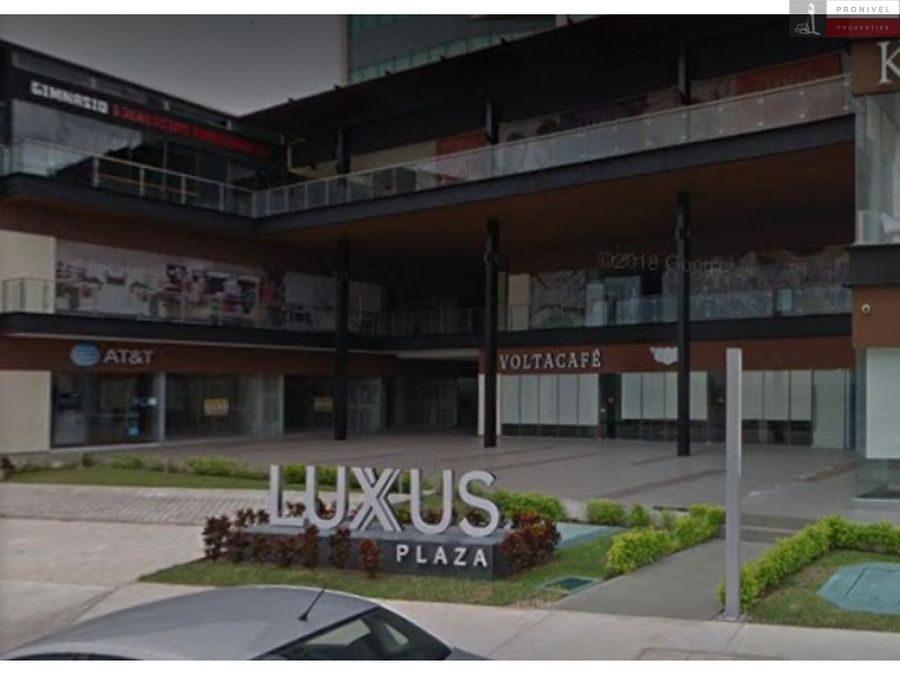 local comercial en renta luxus plaza