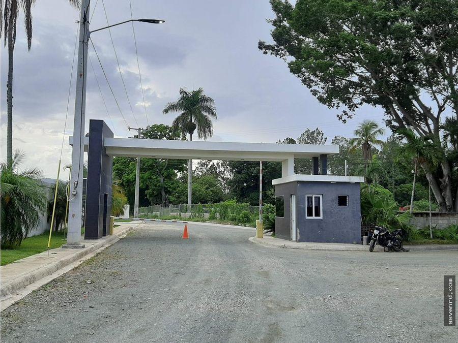 solar de 600 mts disponible jarabacoa