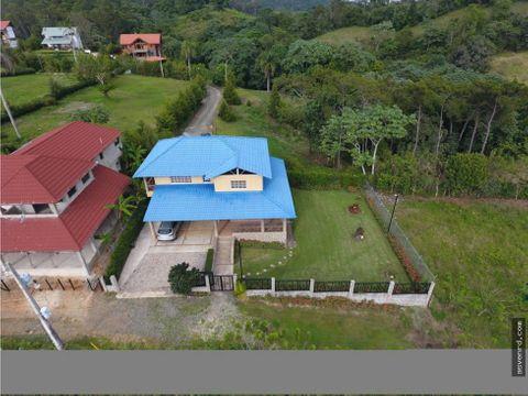 preciosa cabana en venta en buena vista jarabacoa