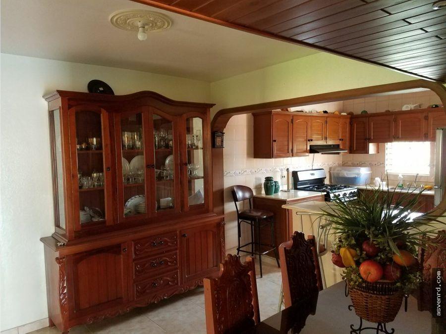 grandiosa casa en venta en buena vista jarabacoa