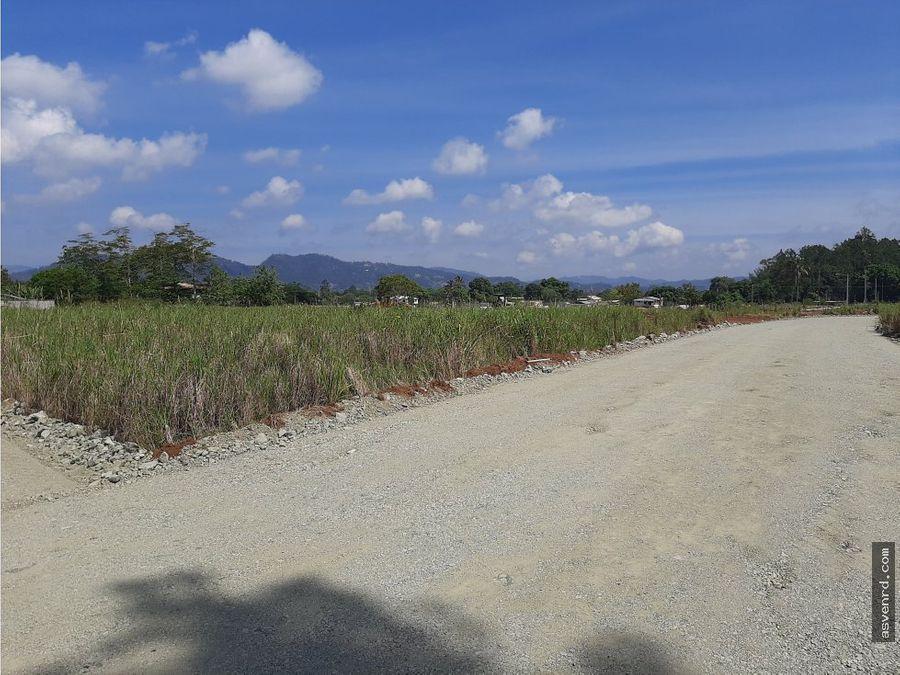 solares a partir de 400 mts en exclusivo proyecto jarabacoa