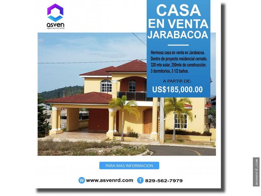 encantadora casa en venta en jarabacoa