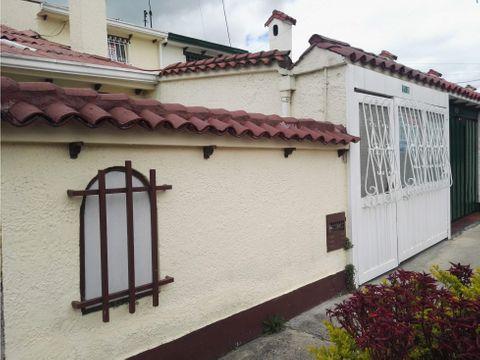 casa en venta villa del prado bogota