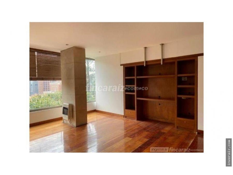 apartamento en rosales 174mts vista a parque ygo