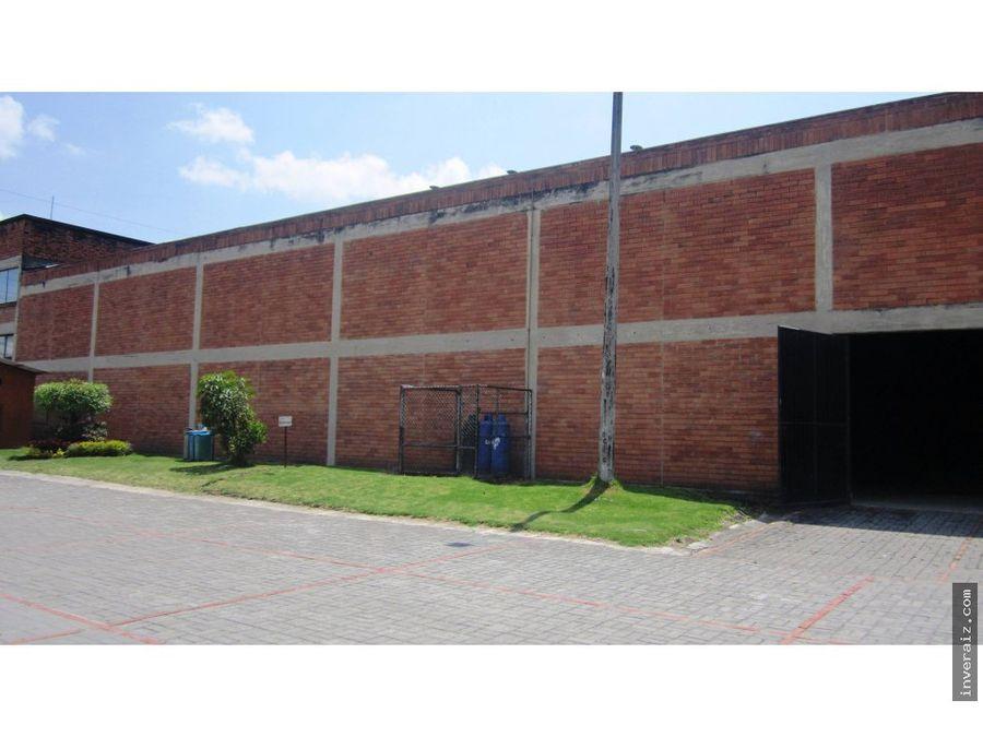 venta bodega 953 m2 calle 80 via cota centro ja