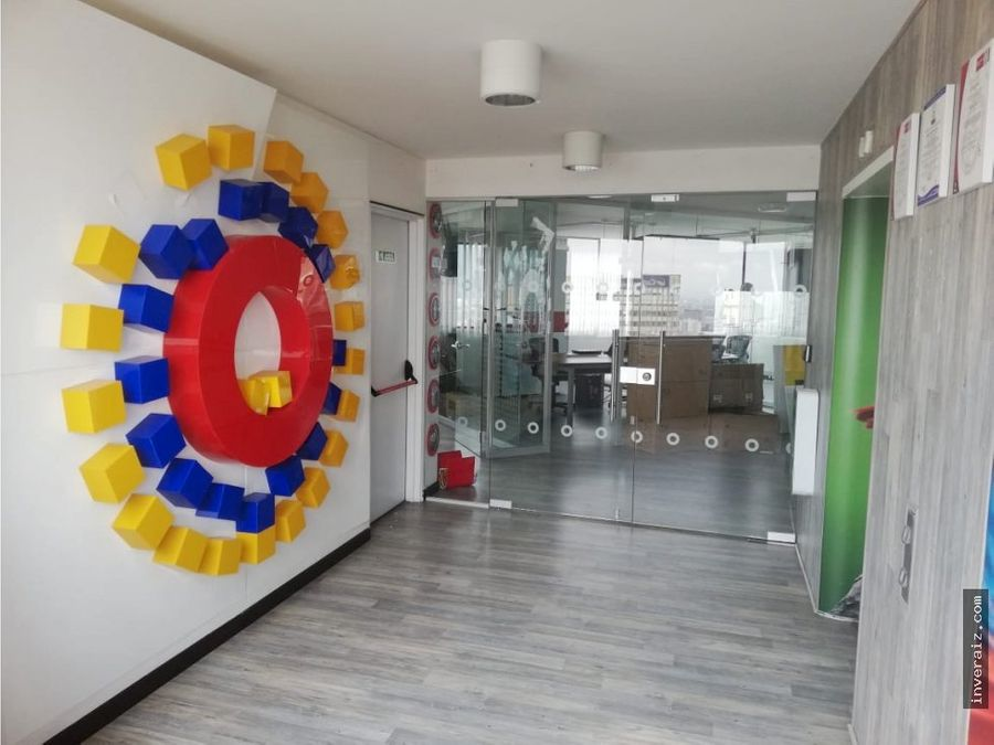 arriendo oficina 125 m2 centro internacional ja
